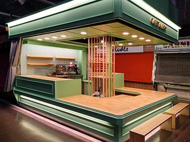 Cafetería Mercat.